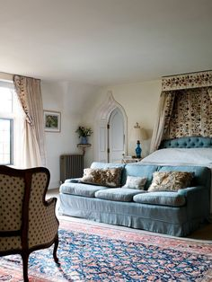 From the archive: a Cotswolds house rebuilt in the local vernacular Country Bedroom Design, Country House Interior, Country Bedrooms, Eclectic Bedrooms, Bedroom Furniture, Bedroom Decor, Cosy Bedroom, Furniture Ideas, Interior Design Themes