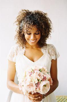 lovely boho bridal look // photo by Braedon Flynn