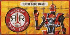 Red Rocket Billboard Advert - Fallout 4 by PlanK-69 on DeviantArt