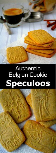 Speculoos are delicious and traditional St. Nicholas cookies from Belgium, with … ) ) Speculoos are delicious and traditional St. Nicholas cookies from Belgium, with a distinct spiced flavor which can now be enjoyed all year. Speculoos Cookies, Spice Cookies, Yummy Cookies, Speculoos Recipe, Biscoff, Cookie Desserts, Cookie Recipes, Dessert Recipes, Dutch Recipes