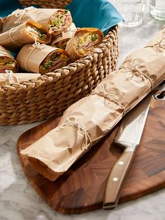 Host a light, casual gathering indoors or out with our Parisian-inspired picnic party ideas. Our custom menu features sandwiches, cheeses and mini pies.