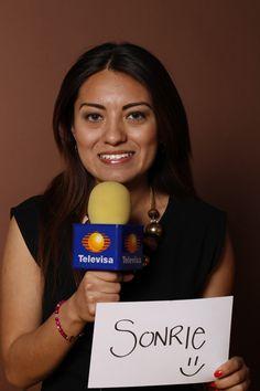 Smile, MayelaSantoyo, Televisa, Reportera, Monterrey, México.