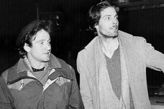 Young Robin Williams and Christopher Reeve