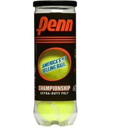 Challenge someone to a #tennis game this summer with our #Penn tennis balls.