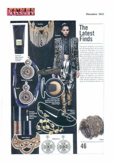 "Our model ""Philip"" on Vogue Accessory … page 46 !!!"