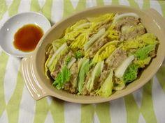 白菜と豚挽き肉の簡単重ね蒸し