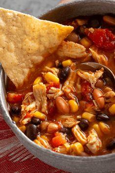 Chicken Tortilla Soup, Canned Chicken, Chicken Soups, Chicken Salad, Chciken Recipe, Soup Recipes, Dinner Recipes, Dinner Ideas, Drink Recipes