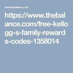 https://www.thebalance.com/free-kellogg-s-family-rewards-codes-1358014