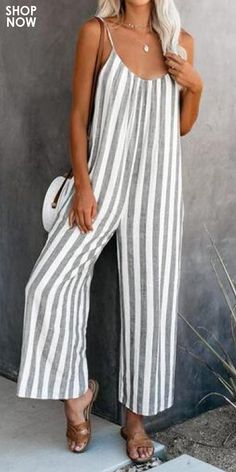Linen Dress Pattern, Dress Sewing Patterns, Pretty Outfits, Chic Outfits, Summer Outfits, Printed Jumpsuit, Boho Fashion, Fast Fashion, Jumpsuits For Women