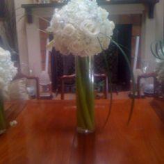 White Flower Balls