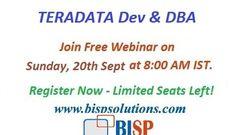10 best Teradata DEV & DBA Online training Free Introduction