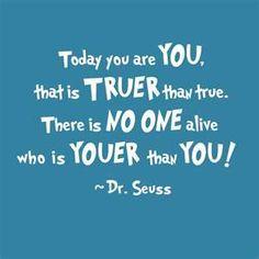 Suess - no one youer than you