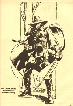 Solomon Kane by John Buscema & Robert E. Howard