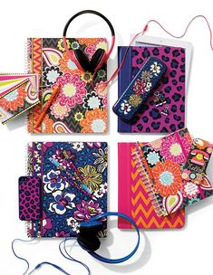 We love Vera Bradley notebooks & accessories