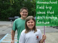 Here are some great homeschool field trip ideas that are free or almost free. #homeschool