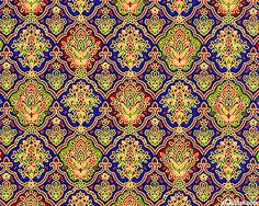 Ravenna - Gilded Fleur De Lis - Sapphire/Gold