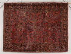 Sarouk Carpet, West Persia, early 20th century, 12 ft. x 9 ft. 2 in.  | Skinner Auctioneers