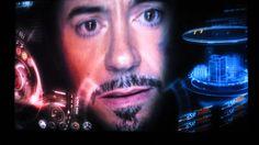 Avengers Blu Ray Played on UHD Samsung UN40HU6950 4K