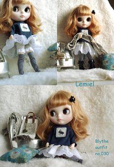 ◆◆Blythe outfit◆Lemiel no.030◆◆ - ヤフオク!