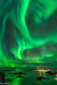Fenomeni naturali (senza montaggi) Norvegia - 22 Gennaio 2014