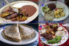 honduras comida results - ImageSearch Real Food Recipes, Dessert Recipes, Desserts, Honduran Recipes, Honduras Food, Latin Food, Cravings, Food To Make, Good Food