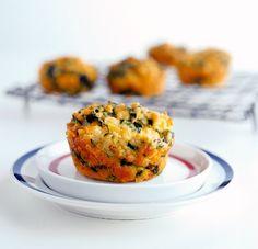 Muffiny se sýrem a špenátem Foto: isifa.com