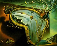 Salvador Dali, Soft Watch at the Moment of First Explosion, 1954