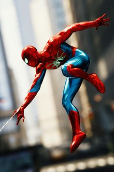 Spider Man Ps4, Spider Man Playstation, Iron Spider, Spiderman Suits, Spiderman Art, Amazing Spiderman, Marvel Heroes, Marvel Characters, Scarlet Spider
