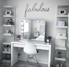 Home decor bedroom - 10 Easy DIY Makeup Vanity Ideas 10 DIY Easy Ideas Makeup Vanity decor interior DIY homedecor decoration farmhouse bedroom