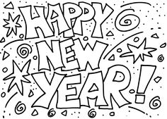 new year coloring pages 2017 42 Best Coloring: Holidays images | Coloring pages, Holiday photos  new year coloring pages 2017