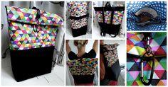 RecyDrops: Hranatý batoh... Backpacks, Crafty, Bags, Fashion, Handbags, Moda, Dime Bags, Backpack, Fasion