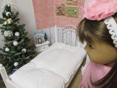 """DIY Easy ROOM DIORAMA and Tons of Decorating Ideas FOR YOUR 18"""" Doll"""