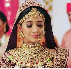New Wedding Makeup Glitter Brides Ideas Indian Bridal Fashion, Indian Bridal Makeup, Indian Wedding Jewelry, Bridal Jewelry, Rajasthani Bride, Rajasthani Dress, Bridal Poses, Bridal Photoshoot, Bridal Makeup Looks