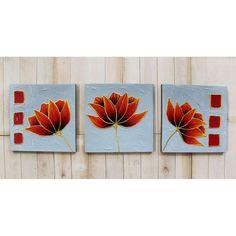 88 Gambar Lukisan Dekoratif Bunga Kekinian