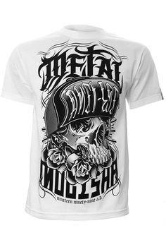 metal mulisha Clothing skull Designs   Metal Mulisha Hoodlum Men's T-Shirt - Metal Mulisha