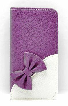 Samsung Galaxy S3 Mini Case - Fashionable Purple: Amazon.co.uk: Electronics
