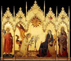 Annunciation by Simone Martini,1333