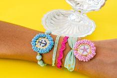 Accesorios de mar Handmade Jewelry, Hand Made, Handmade Accessories, Key Fobs, Bangle Bracelets