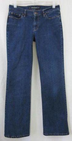 DKNY Jeans Size 8 Reg Boot Cut 28x30  Free Shipping