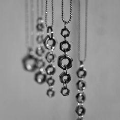 GOING NUTS!-necklaces by: Miia Magia Design www.miiamagia.com