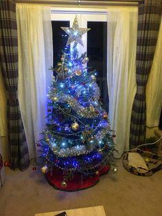 Christmas Messages, Christmas Tree, Holiday Decor, Home Decor, Teal Christmas Tree, Decoration Home, Room Decor, Xmas Trees, Christmas Trees