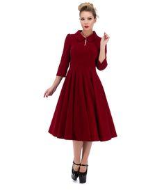 Hearts and roses velvet dress