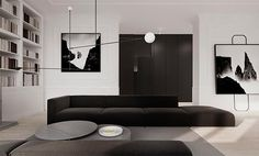 Living Rooms: Warsaw apartment / Tamizo architects