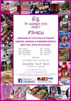 The Handmade Expo in IPSWICH.We will be there next week!