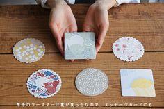 点と線模様製作所のナプキンとコースター 倉敷意匠×点と線模様製作所 | 日本の手仕事・暮らしの道具店 | cotogoto コトゴト