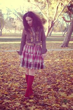 Libertad Green: Autumn Leaves