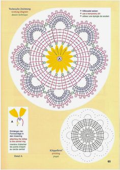 63 trendy ideas for crochet doilies lace dream catchers Bobbin Lace Patterns, Crochet Stitches Patterns, Knitting Patterns, Lace Doilies, Crochet Doilies, Crochet Lace, Irish Crochet, Doily Dream Catchers, Bobbin Lacemaking
