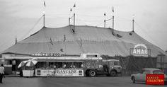 Jean Richard, Olympia, Old Circus, Circo Vintage, Le Zoo, Big Top, Facade, Mexico, Lion Tigre