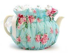 Shabby Blue Tea Cozy Teapot Cosy