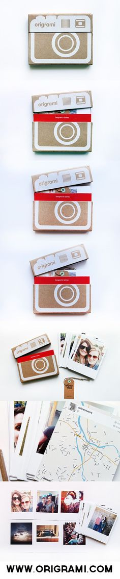Origrami - all your favorite Instagram photos on paper